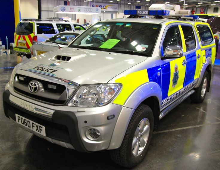 Police Car Photos Merseyside Police Toyota Hilux Ciu