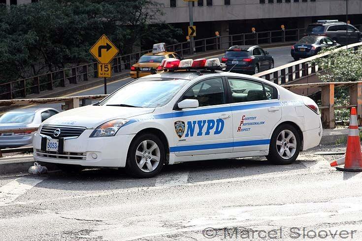NYPD patrol car Nissan Altima