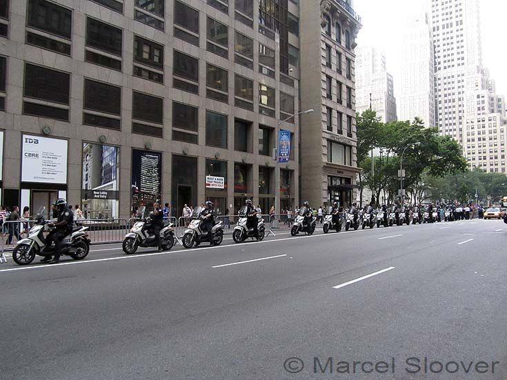 Piaggio Scooters NYPD