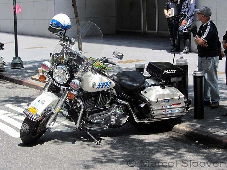 Harley Davidson NYPD Manhattan