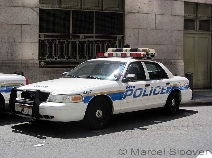 Patrol car 4267 MTA Police Manhattan