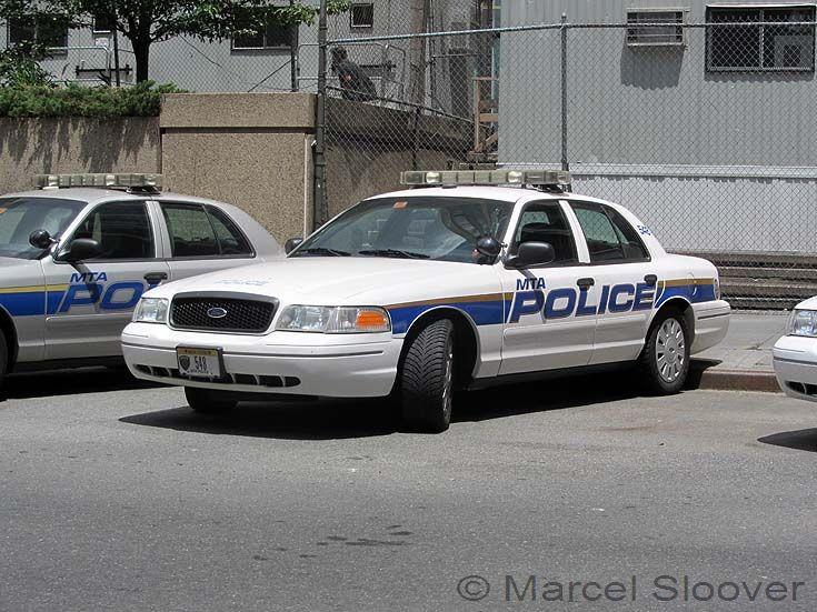 MTA Police Manhattan Ford car 548