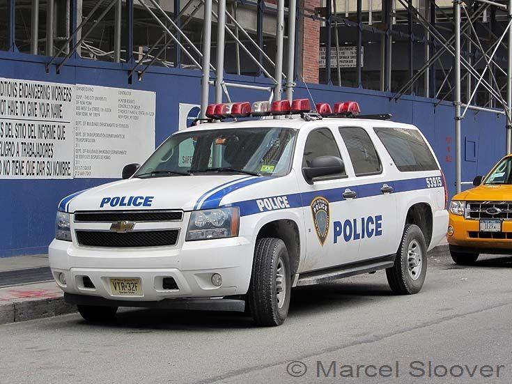 Chevrolet Suburban Port Authority Police Manhattan