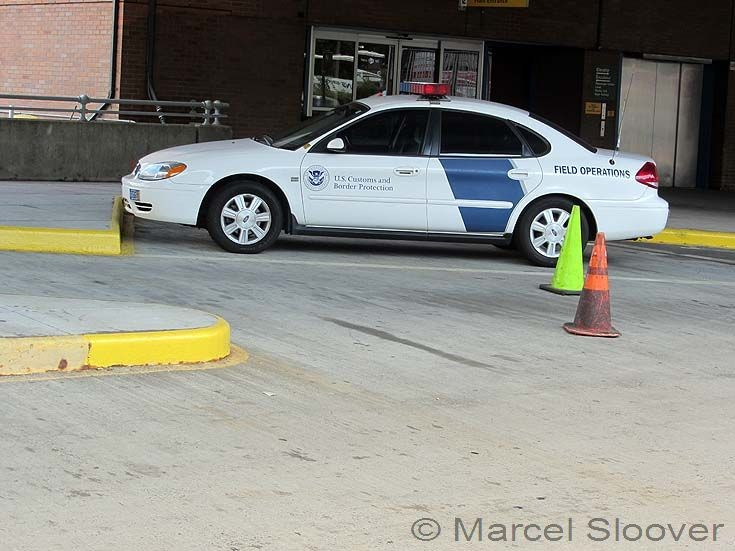 US Customs and Border Security Ford NYC