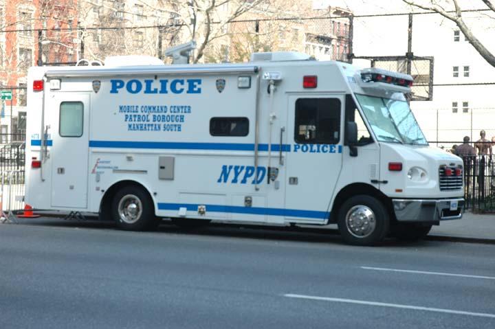 NYPD Mobile Command Centre