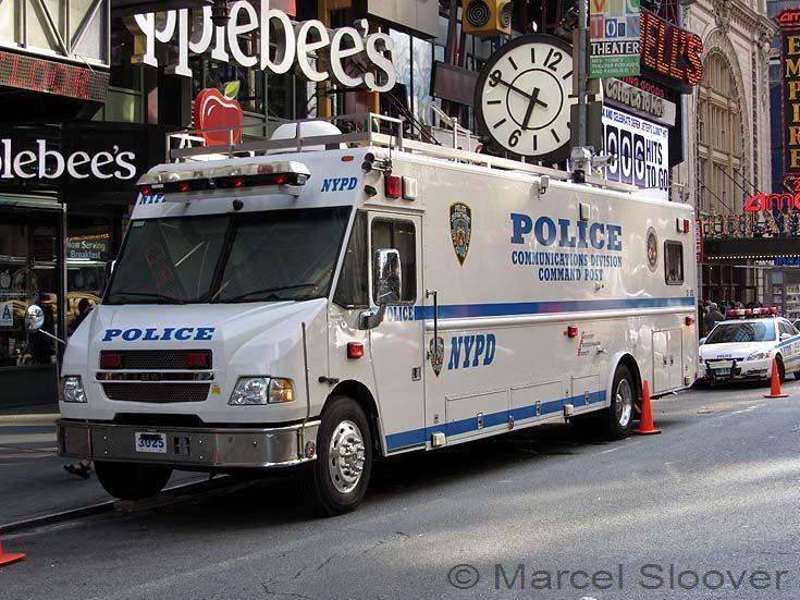 NYPD Navistar Command Post