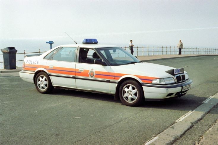 Rover (L513ERN) Lancashire Constabulary 1993.