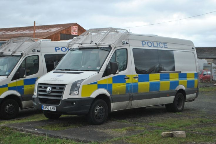 NX58AXN - Cleveland Police - VW Crafter.