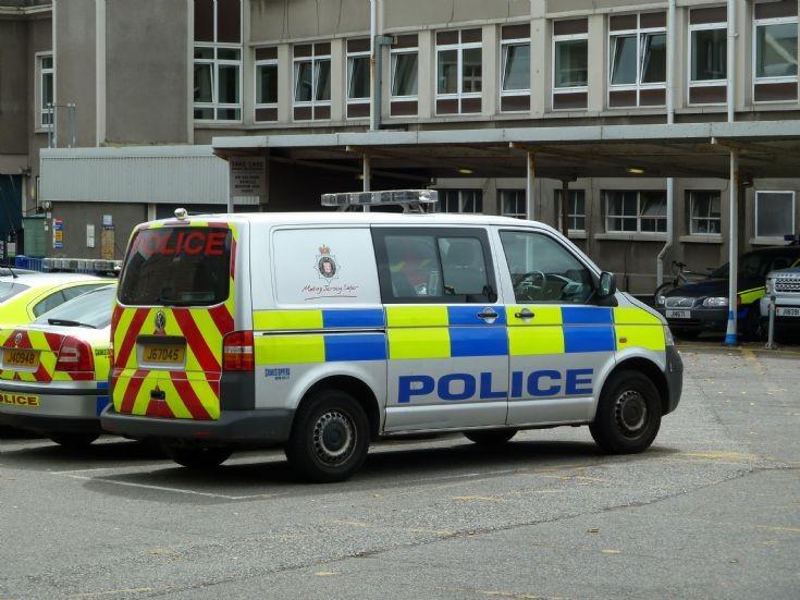 Jersey CI VW Police van J67045