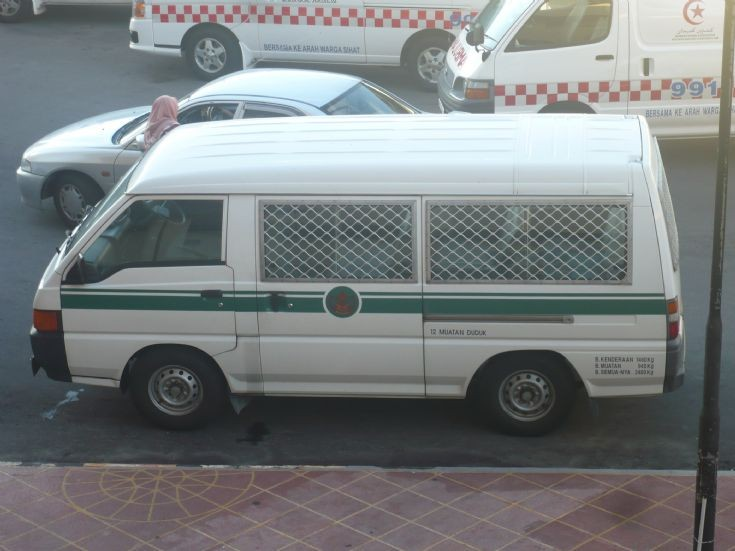 Mitsubishi L300 Brunei prisoner van