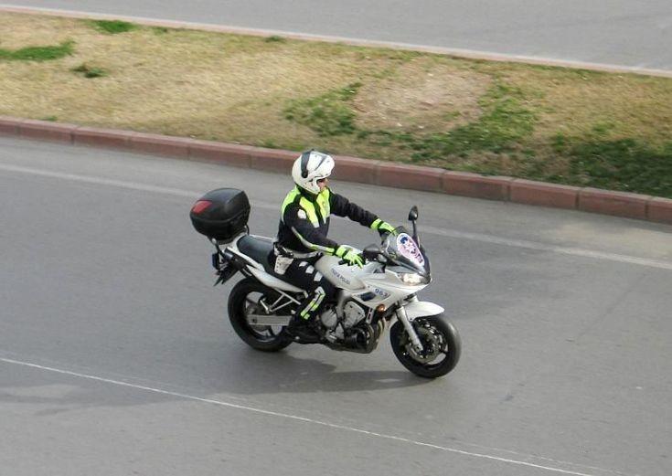 Traffic Police & Yamaha Bike