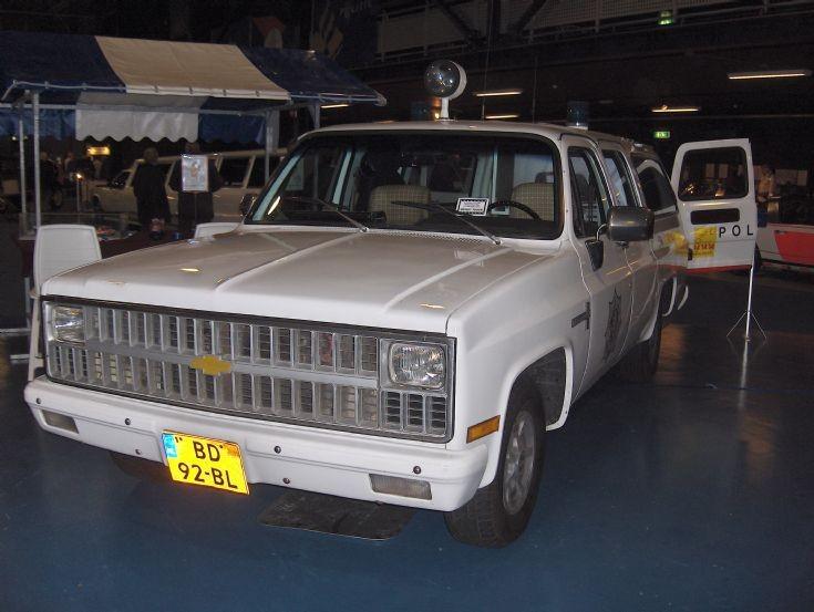 Chevrolet C10 Suburban 1981