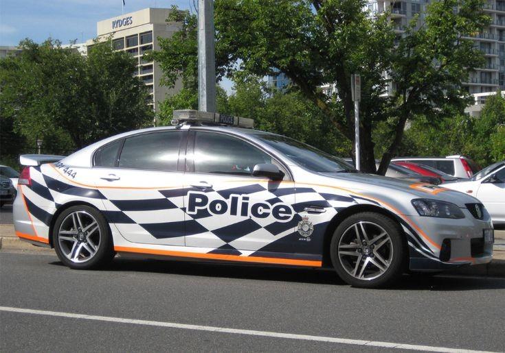 AFP - ACT Holden VE SS2, Australia