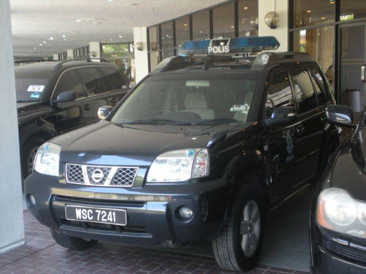 Royal Malaysia Police XTrail WSC 7241