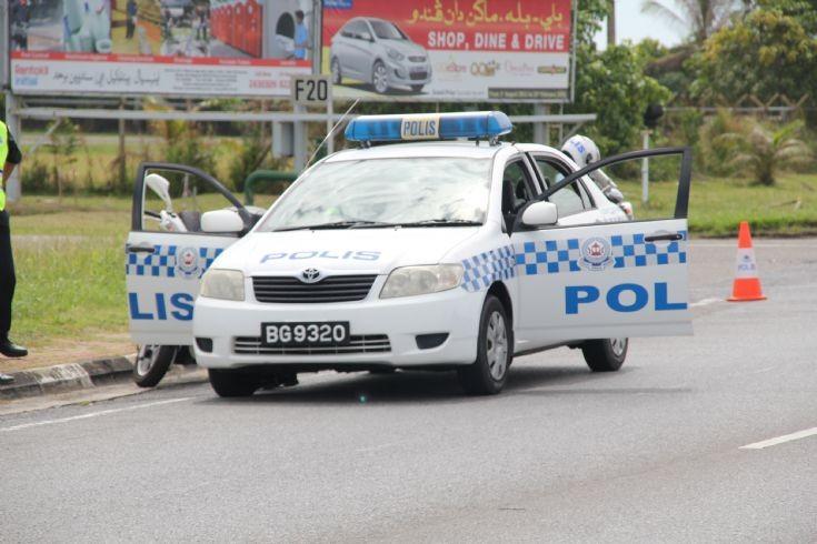 Toyota Corolla police car