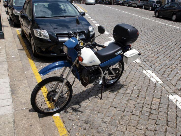Policia Yamaha