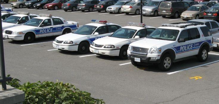 Variety of Ottawa Ontario Police Vehicles