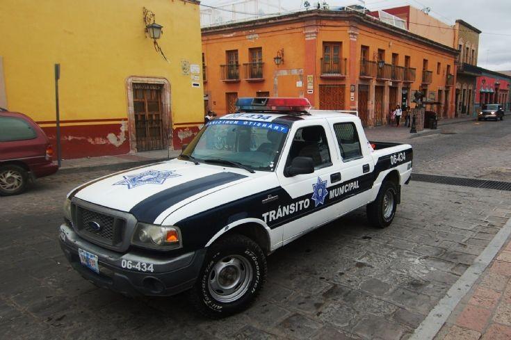 Ford Ranger traffic police patrol