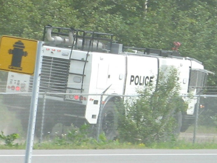 RCMP Armoured Vehicle Ottawa Ontario