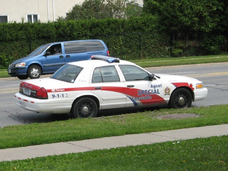 OC Transpo Transit Police Ottawa Ontario