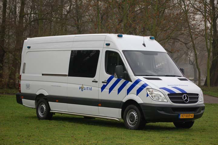 Politie Rotterdam Rijnmond MB Sprinter van