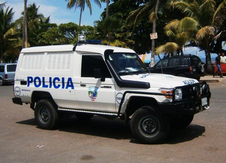 Police Car Photos Toyota Land Cruiser In Costa Rica