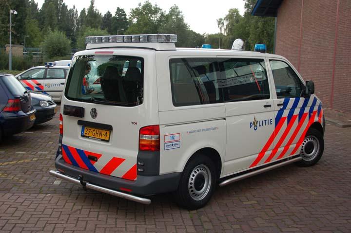 Politie Rotterdam Rijnmond Volkswagen T5 Van