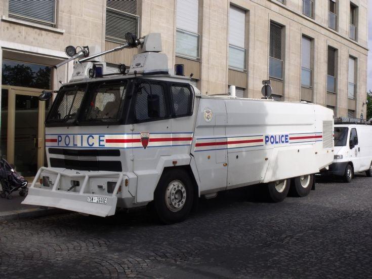Riot heavy truck.