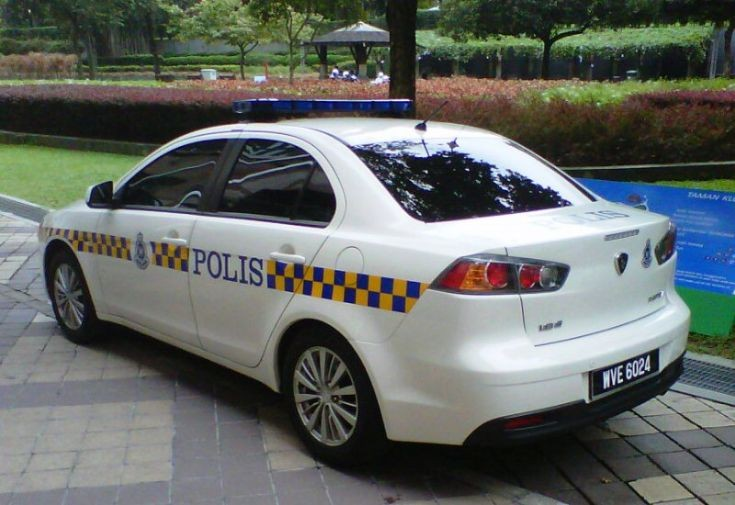 Malaysia Proton Inspira Polis