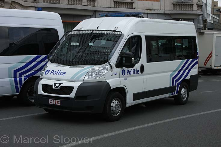 Peugeot Police Brussels South