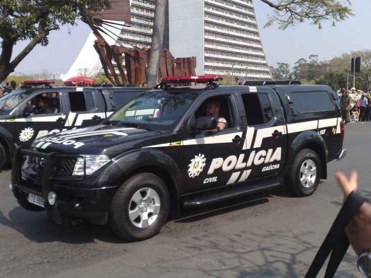 Nissan Frontier Policia Civil