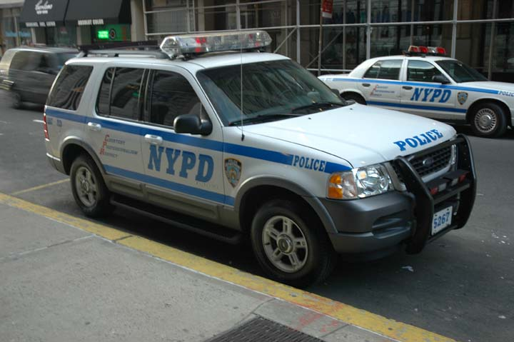 NYPD Ford Explorer 5267