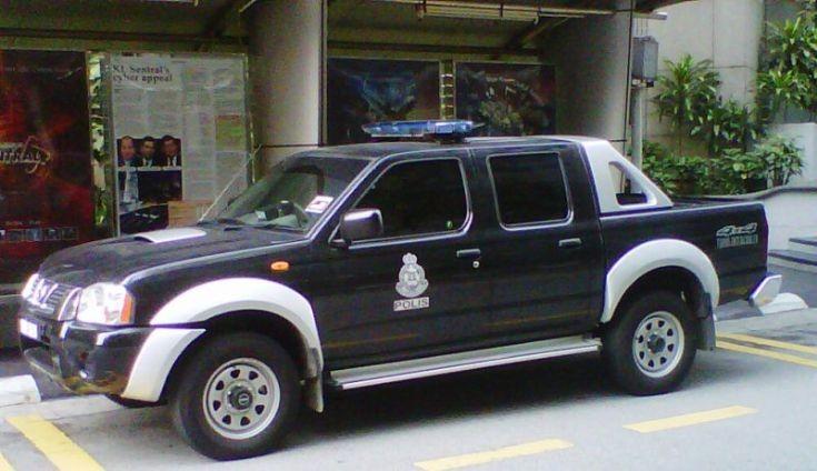 Malaysia Auxiliary Police - Nissan 4x4
