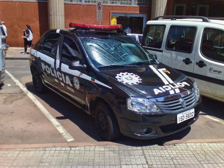 Renault Logan Policia Civil