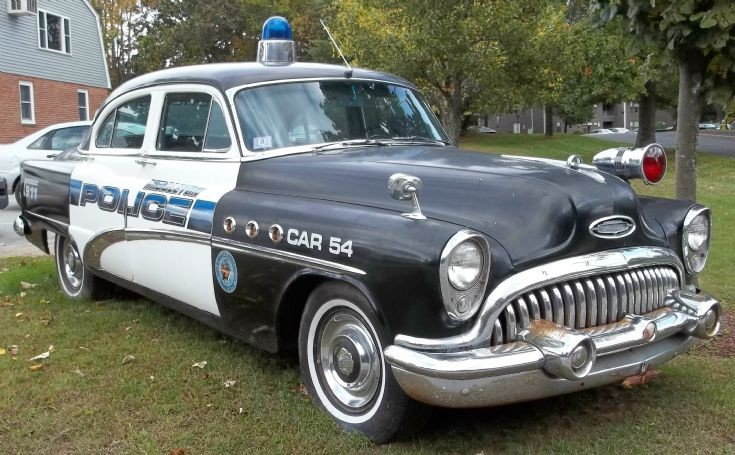 1954 Buick 8 Special/ Police Car