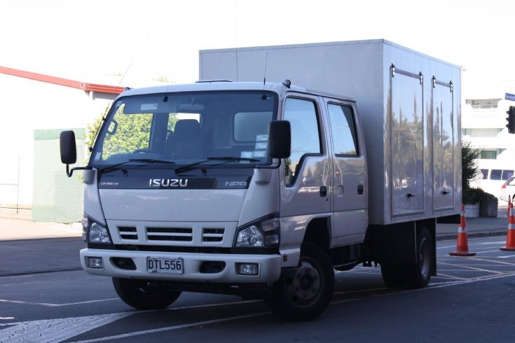 New Zealand Isuzu vehicle investigation unit