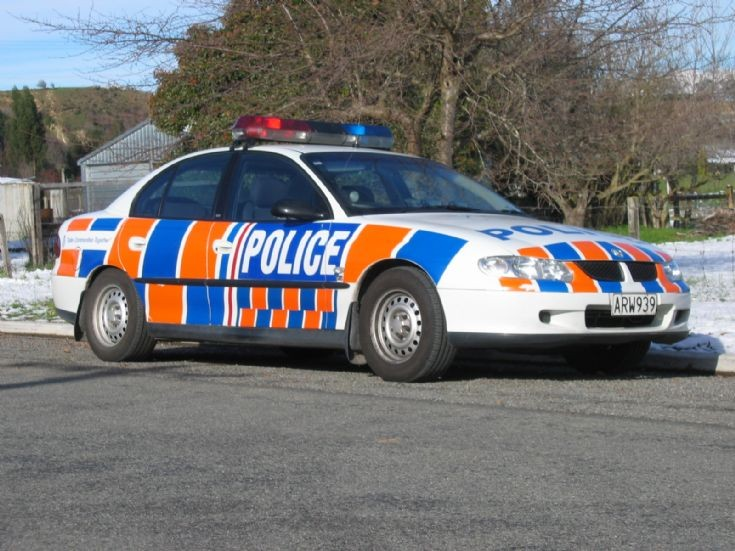 New Zealand Police Holden VX Commodore