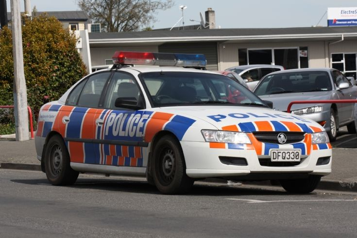 New Zealand Police Holden Executive