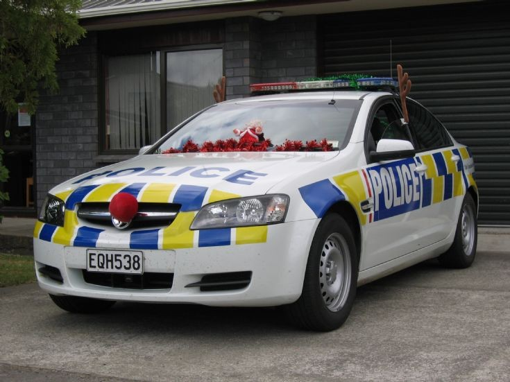 New Zealand Holden EQH538