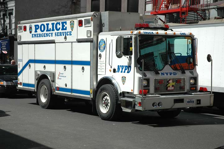 NYPD Emergency Service Unit Truck One