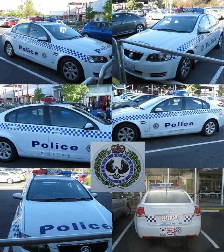 Police Car in Australia - patrol Charlie 30