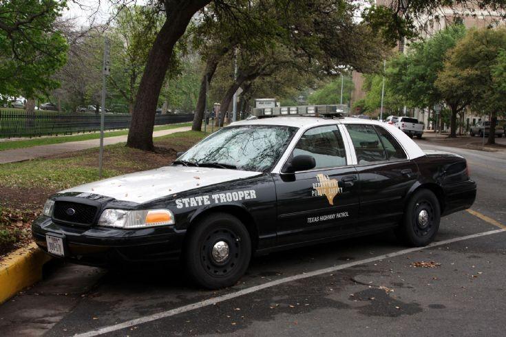 Texas State Police Car Interior Design
