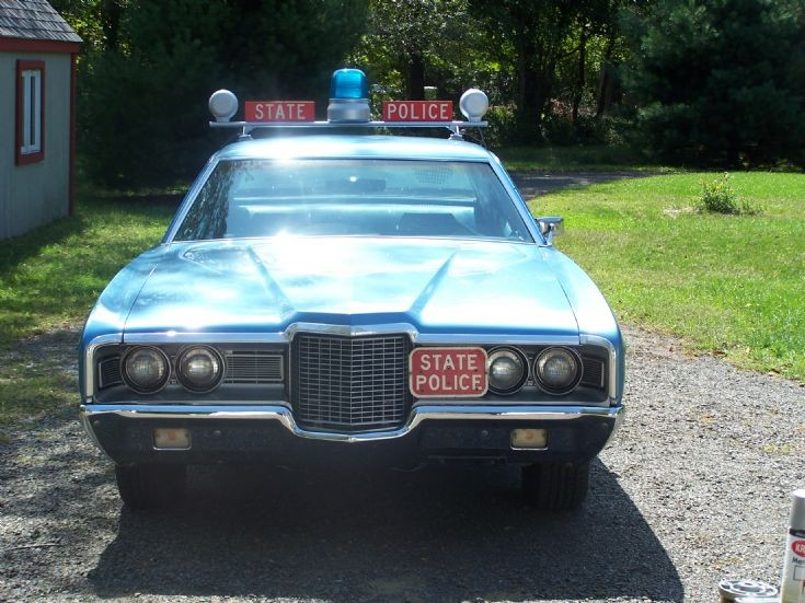 1972 Ford LTD CT STATE POLICE