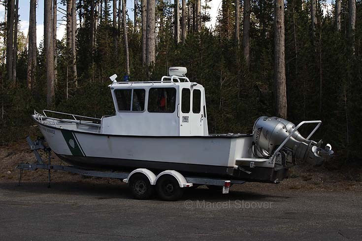 Park Rangers boat