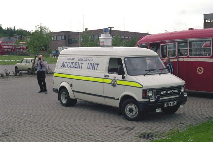Bedford CF (C924NRG) Durham 1987