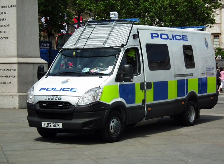 North Yorkshire Police Iveco