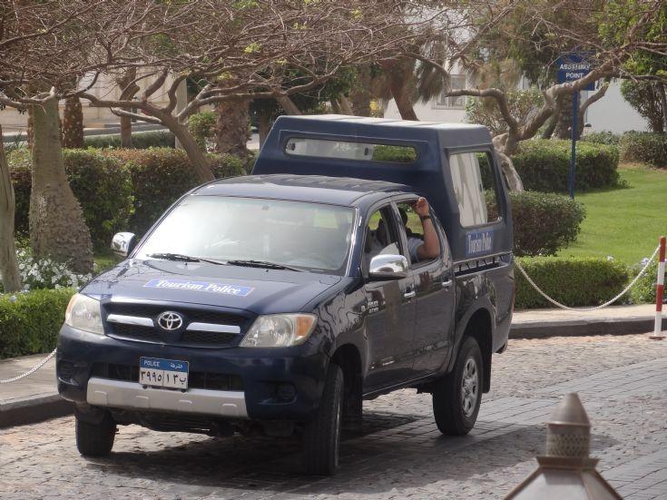 Toyota Pickup - Tourism Police Egypt