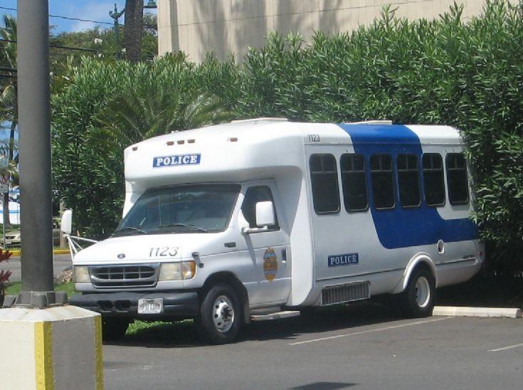 Ford Police Mini-Bus Honululu Police