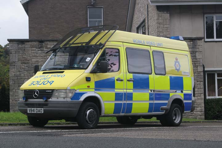 Cumbria Constabulary Mercedes Mobile Video Unit