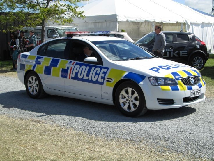 New Zealand Holden Commodore GMK152